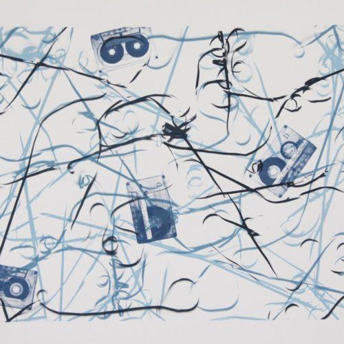 Eurythmics, Sinead O'Connor, Simple Minds, Tracy Chapman-PetraBerghorst2014, 50x70cmZeefdruk op Papier