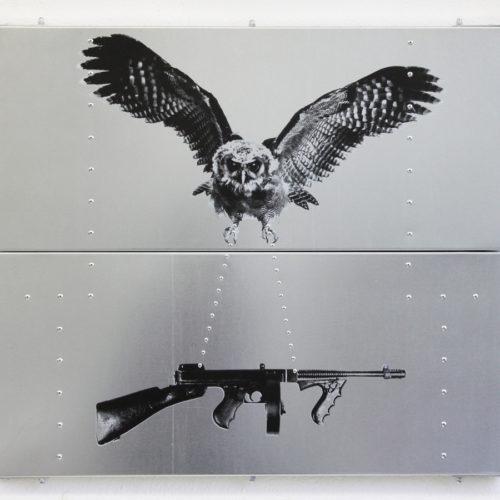 Hedwig's gun-PetraBerghorst2014, 80x70cm, ZinkZeefdrukPopnagels